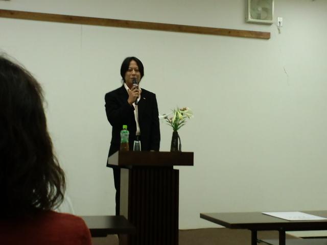 西川会長講演会